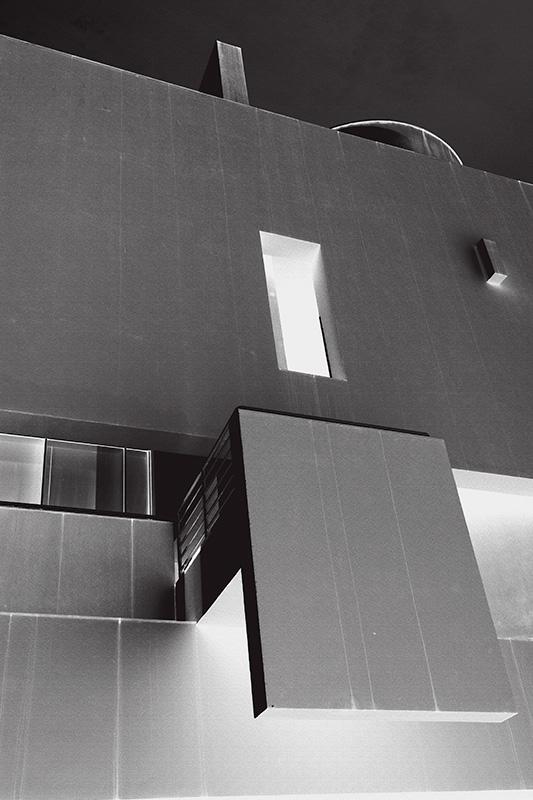 Galerie architektur fragmente